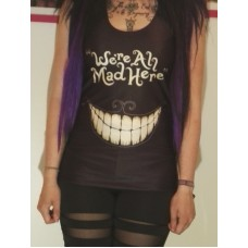 We are all mad here tank top