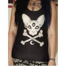 Cosmic cat tank top